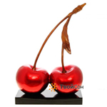 Two cherries red H69 см, Китай